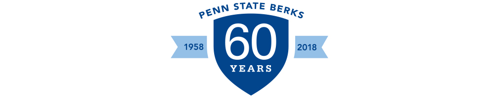 Penn State Berks's 60th Anniversary Logo