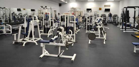 Weight Room in Beaver Community Center