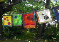 Peace Monument Quilts by Camille Romig