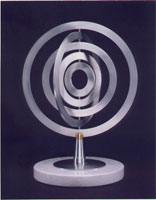 Small Orbits sculpture by Jeff Kahn