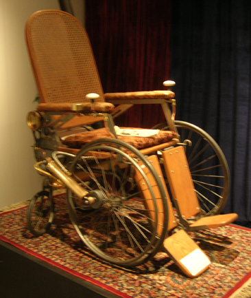 Wheelchair from STEAMpunk! exhibit