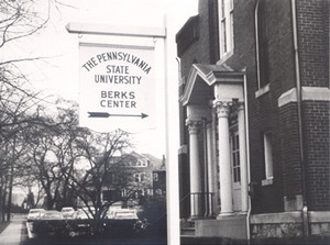 Historic photograph of Penn State Berks