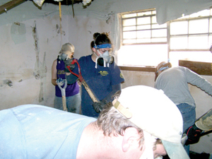 Katrina volunteers