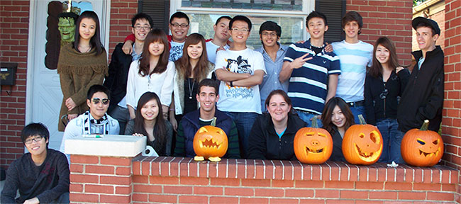 Halloween Activity for International Students
