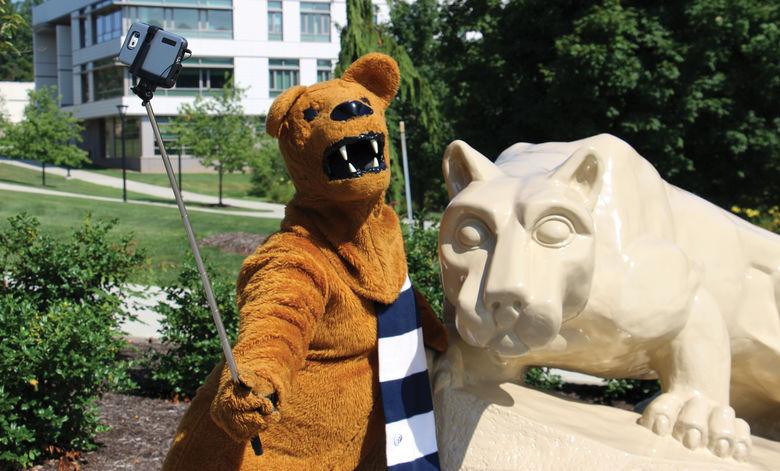 Nittany Lion selfie