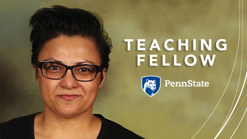 Cheryl Nicholas 2019 Teaching Fellow