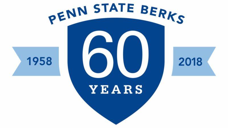 The Penn State Berks 60th Anniversary Logo