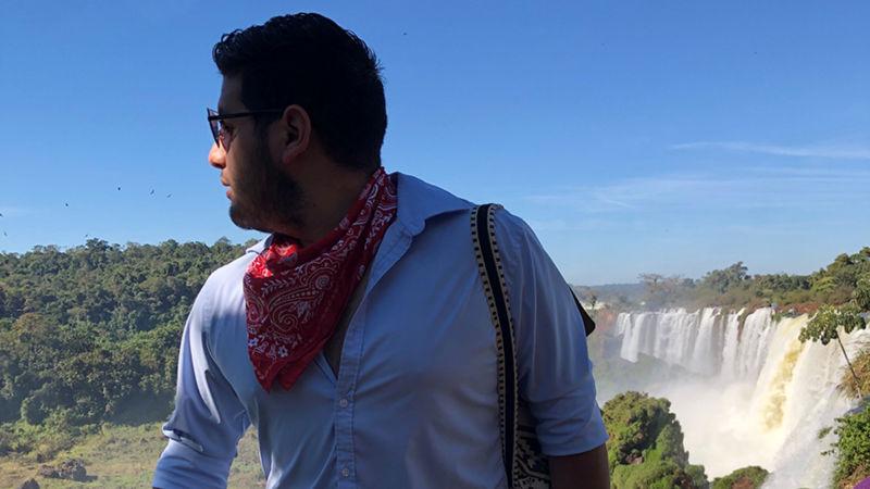 Joshua Flores in Argentina