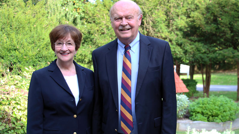 Chancellor Keith Hillkirk and Mrs. Suzanne Hillkirk