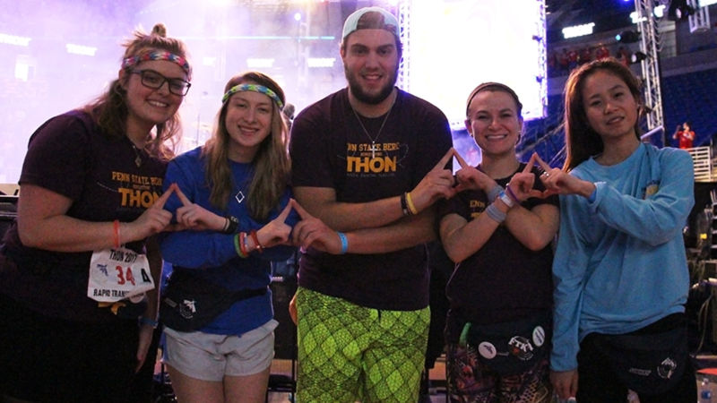 Berks sent 5 dancers to University Park for THON weekend