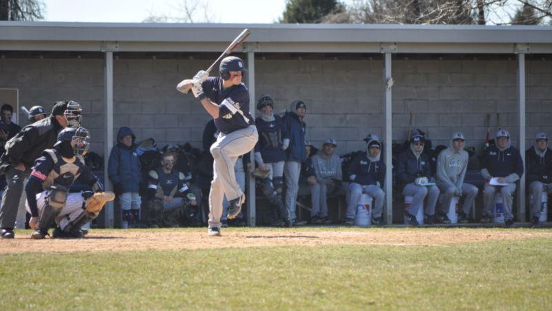 Toby Welk at bat
