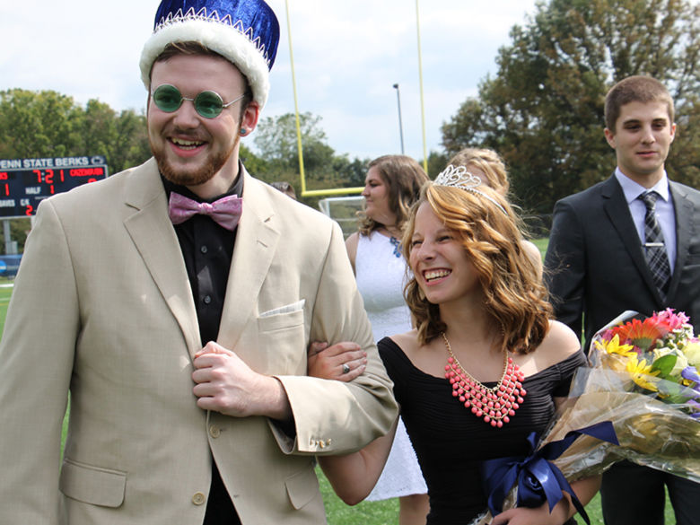Homecoming King and Queen for 2015