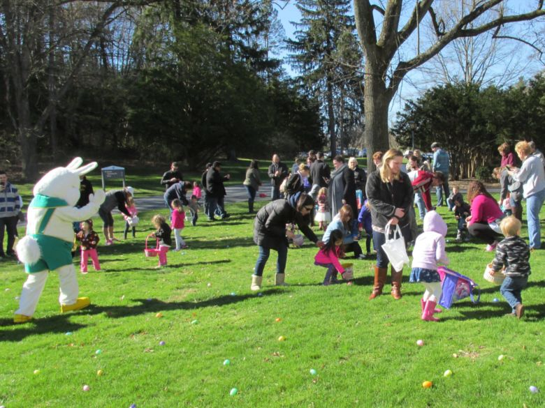 Easter Egg Hunt with the Nittany Lion