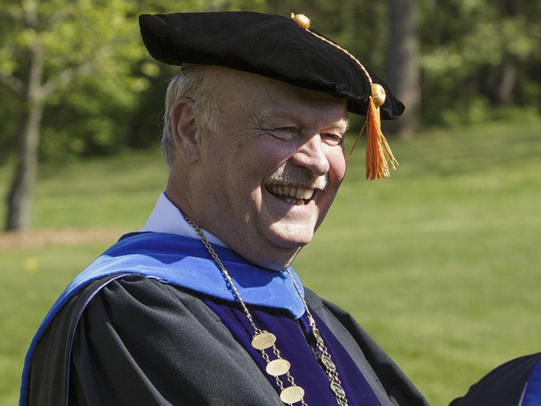 Chancellor Hillkirk at Graduation