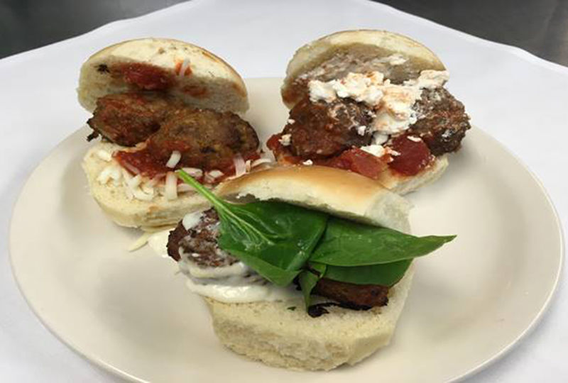 Meatball Sliders now available at Tully's
