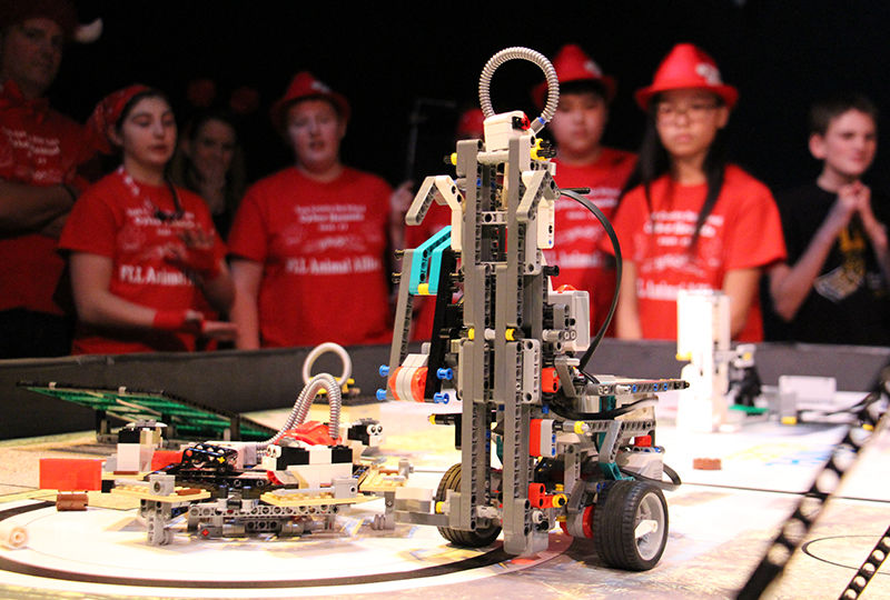 FIRST Lego League Competition 2017