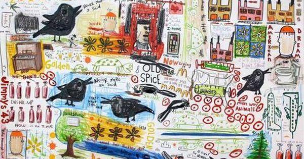Drawings and Paintings by David Nally
