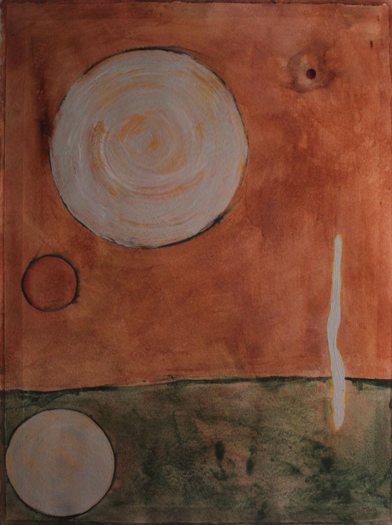 Painting by Janice Trusky