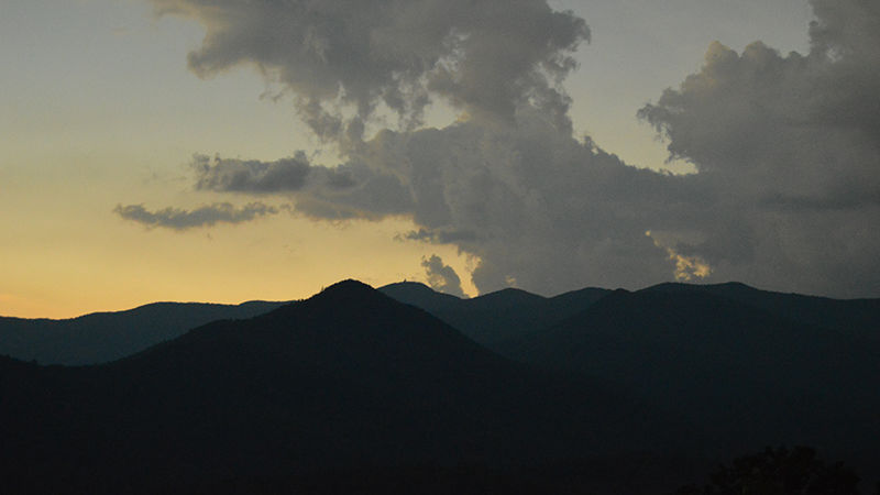 Totality Sunset