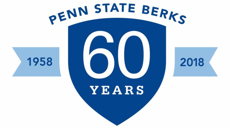 The Penn State Berks 60th Anniversary Logo