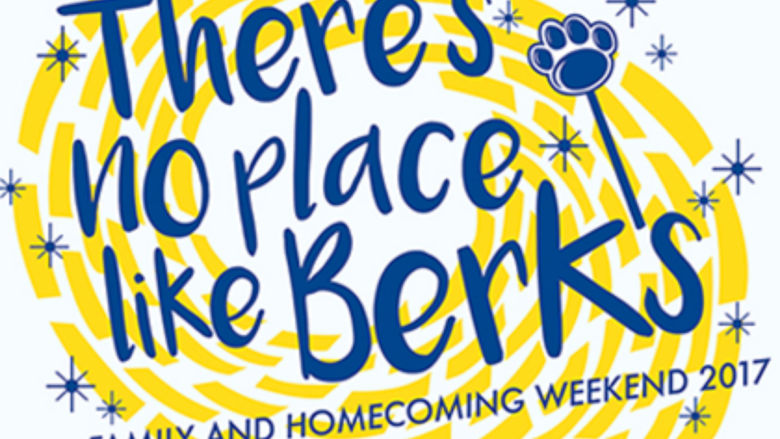 There's No Place Like Berks Homecoming Logo