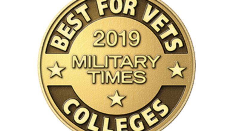 Best for Vets Colleges 2019 logo