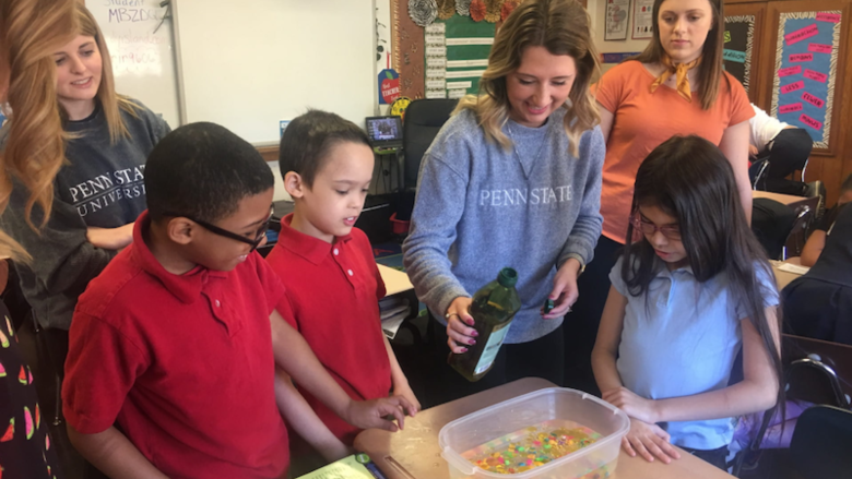 Students at Penn State Berks promote environmental stewardship in Reading