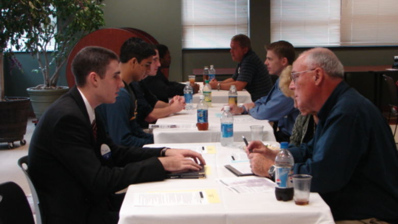 Students in a Mentoring session