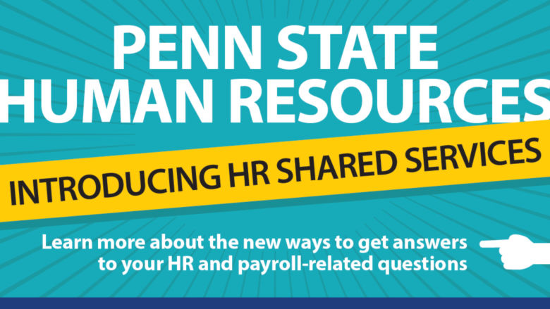 HR Shared Services Announcement
