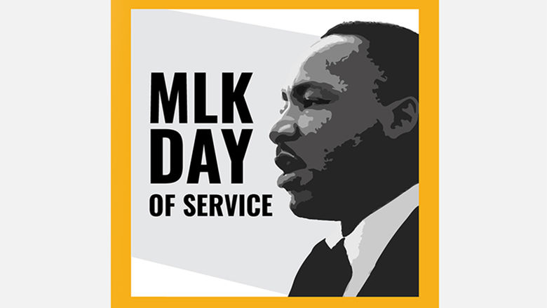MLK Day of Service 2021 logo