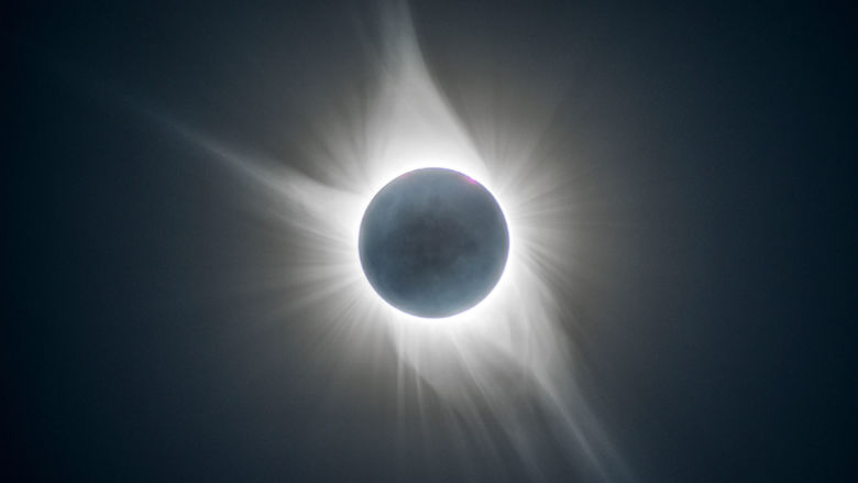 Photo of the Solar Eclipse taken by Robert Hart