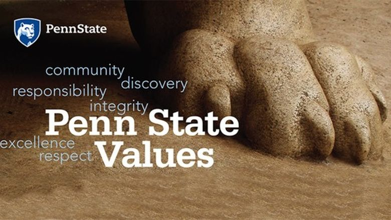 Penn State Values image