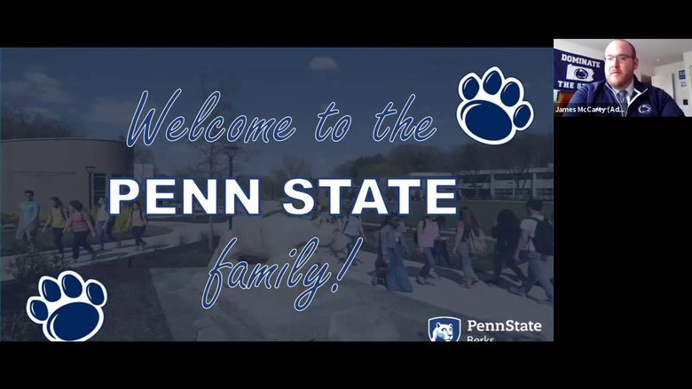 Penn State Berks Accepted Student Webinar (April)