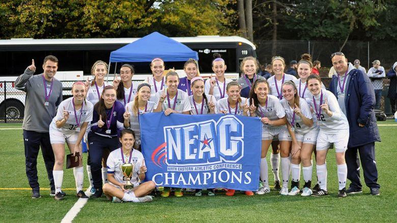 The Penn State Berks women's soccer team