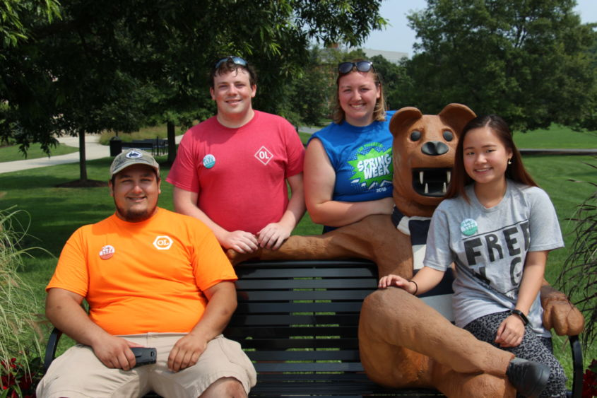 Orientation leaders help incoming students adjust to college life