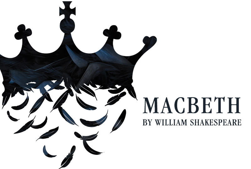 Poster for Berks Theatre production of Macbeth