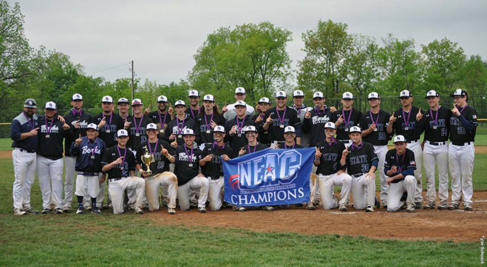 Berks Baseball wins third straight NEAC title